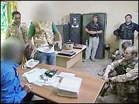 Iraqi interpreters with US troops
