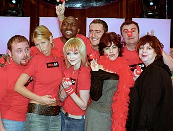 Eight celebrity students who will battle it out in Comic Relief Does Fame Academy