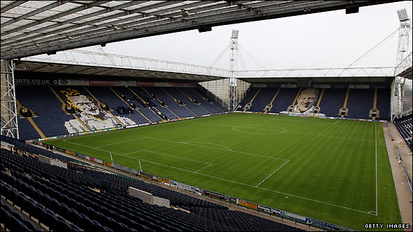 Deepdale - the home of Preston North End.