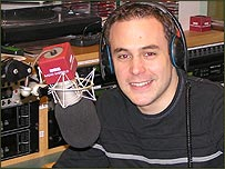 Ex-BBC Radio Sheffield presenter Luke Wileman