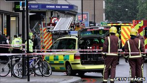 The father of David Foulkes, who was killed in the Edgware Road blast, said police had contacted him about the phone hacking scandal.