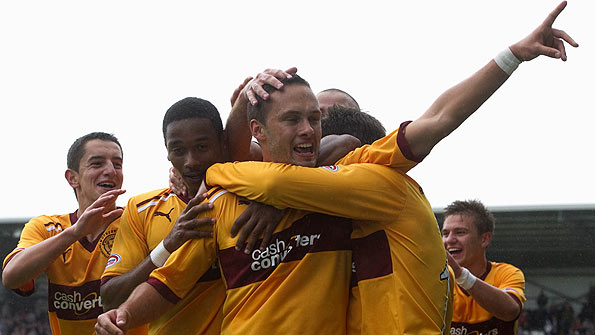 Motherwell are riding high in the Scottish Premier League