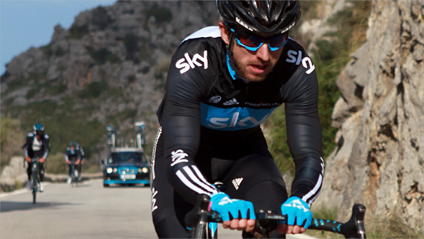 Downing enjoyed a successful season with Team Sky in 2010