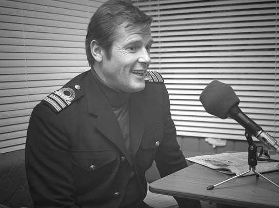 Roger Moore, interviewed 1976.