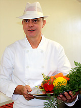 Bob Davies, winner of best public caterer.