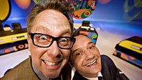 More madcap capers from Vic Reeves (left) and Bob Mortimer