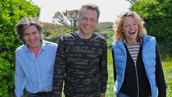 Springwatch presenters: Martin Hughes-Games, Chris Packham, Kate Humble