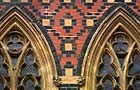Gothic tiling and architecture