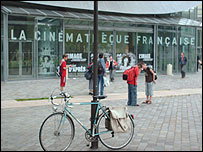 The museum of Cinema in Paris