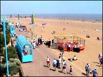 Holidaymakers at Skegness