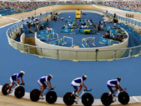 The proposed Olympic velodrome