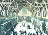 Image of the Norman Great Hall at Westminister