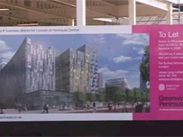 Planned redevelopment on the site
