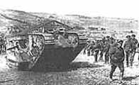 Image of a Mark 1 tank