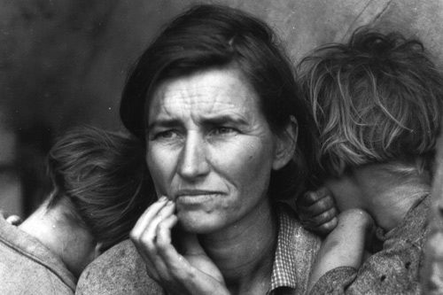 Migrant Mother, Nipomo, California  Dorothea Lange