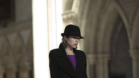 Anna Maxwell Martin in On Expenses