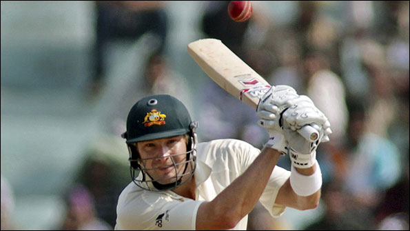 Shane Watson batting during the tour of India