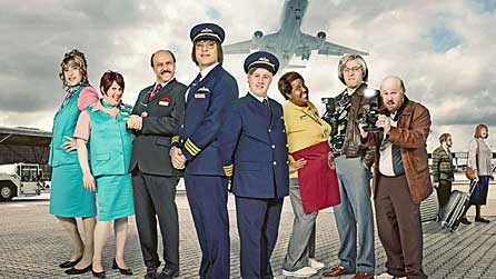 David Walliams and Matt Lucas star in Come Fly With Me