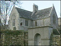 Tyneham village church