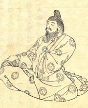 Early Japanese sketch of O no Yasumaro