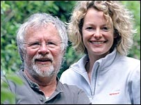Springwatch presenters Bill Oddie and Kate Humble