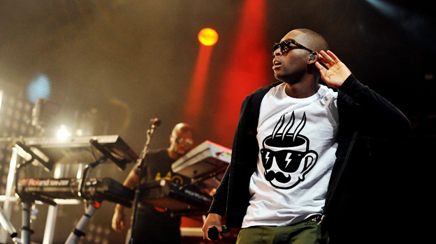 Tinie Tempah at Big Weekend 2011