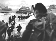 Commandos of No 1 Special Service Brigade, Queen Red Sector, Sword Beach