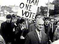 Civil rights march, Londonderry, 5 October 1968