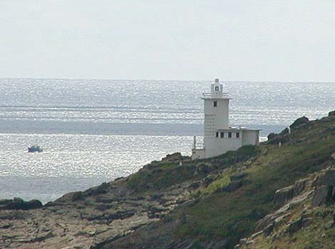 Tater Du lighthouse near Lamorna