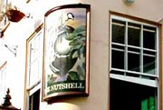 The Nutshell Pub sign, Bury St Edmunds
