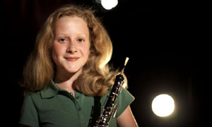 Classical Star: Lavinia plays the Oboe