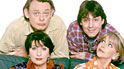 The cast of Men Behaving Badly