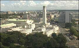 Southampton City Centre webcam