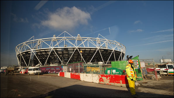 The Olympic Stadium is a key part of the 2012 legacy in London's east end