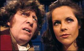 Tom Baker and Mary Tamm (Romana) in The Ribos Operation