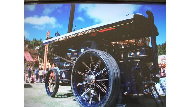 Fowler Showmans Traction Engine