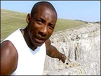 Johnny Nelson in the Peak District