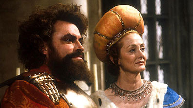 King Richard and Queen Gertrude
