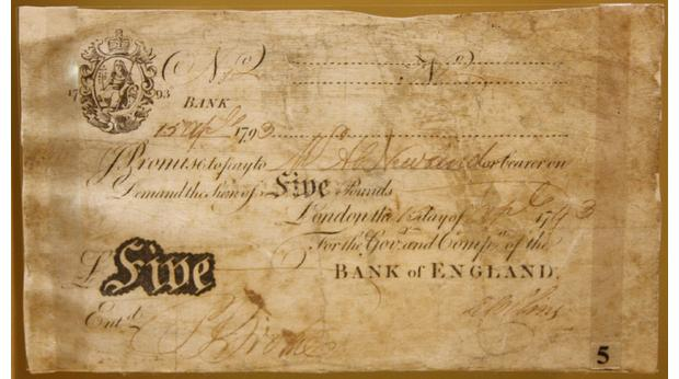 1793 £5 Note