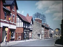 Newport St in Old Town in the 1960s