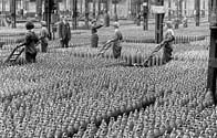 Photo of a munitions factory