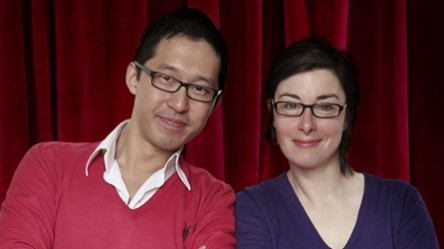 Jason Lai and his student, Sue Perkins