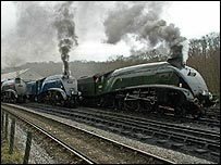 Class A4s at the North Yorks Moors Railway.