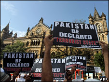 Demonstration against Pakistan in India