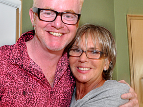 Actress Sue Johnston on the Chris Evans Breakfast Show