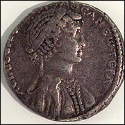 Coin from the reign of Cleopatra VII