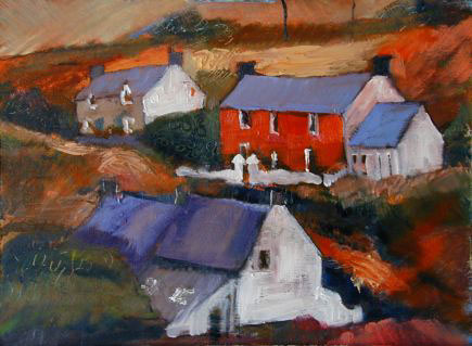 Anne Aspinall, Abereiddy - Three Cottages