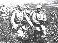 Armed German soldiers