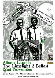 bonnevilles album launch poster