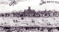 View of London in 1616
